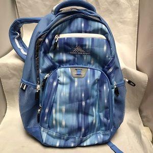 High Sierra Everyday RipRap Backpack Blue